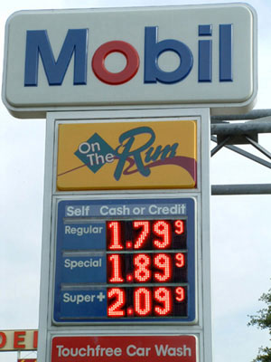 Gas Prices Impacting Mortgage Rates