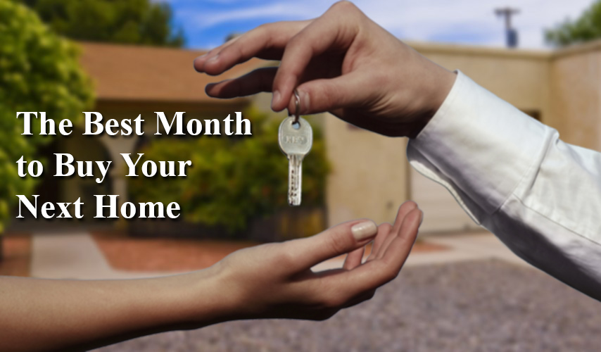 The Best Month to Buy Your Next Home