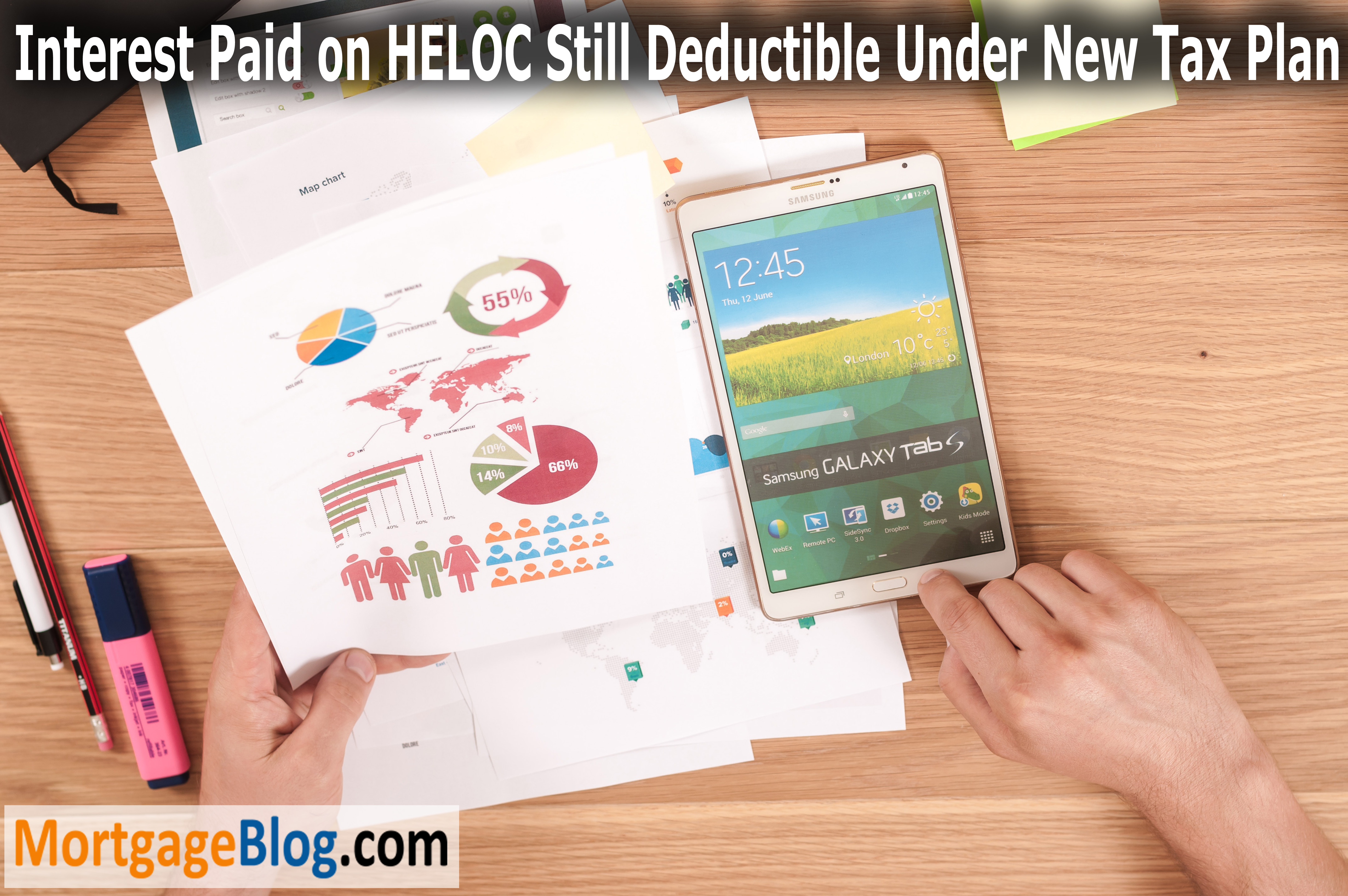 Interest Paid on HELOC Still Deductible Under New Tax Plan