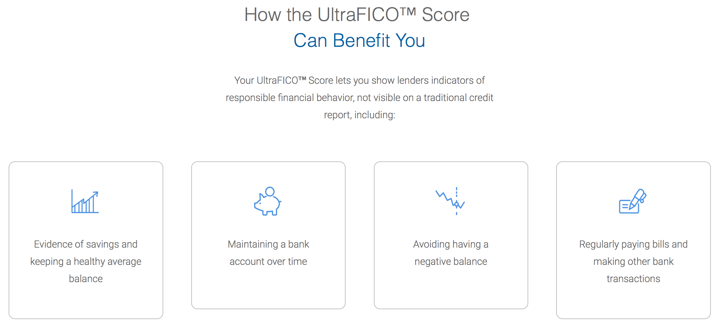 How does UltraFICO work
