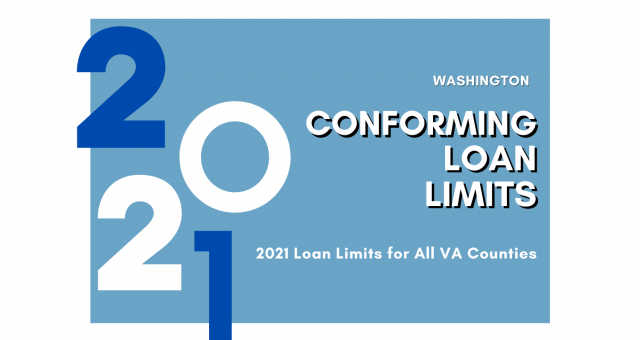 2021 CONFORMING LOAN LIMITS FOR WASHINGTON (WA)